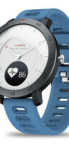 preiswerte -Zeblaze Hybrid-Herzfrequenz-Blutdruckmessgerät Echtzeit-Wetter Temperatur Ziel erinnert Dual-Modi mechanische Zeiger Smartwatch