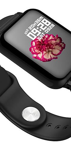 preiswerte -b57 smart watch bt fitness tracker unterstützung benachrichtigen / herzfrequenzmesser sport smartwatch kompatibel ios / android handys