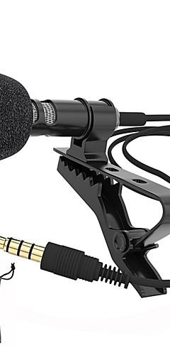 preiswerte -Audio-Mikrofone 3,5-mm-Klinkenstecker Aufsteckbares Lavaliermikrofon Stereo-Mini-Mikrofon mit Kabel für Mobiltelefone