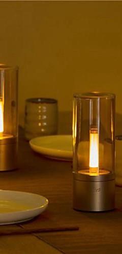 preiswerte -yeelight ylfw01yl 6,5 watt wiederaufladbare dimmbare led nachtlicht bluetooth steuerung tischlampe (xiaomi ökosystem produkt) - 2 stücke
