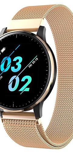 preiswerte -Q20 Smart Watch BT Fitness Tracker Unterstützung benachrichtigen / Pulsmesser Sport Edelstahl Smartwatch kompatibles iPhone / Samsung / Android-Handys