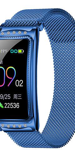 preiswerte -kupeng f28 smart armband bluetooth edelstahl fitness tracker unterstützung benachrichtigen / herzfrequenzmesser sport wasserdicht smartwatch kompatibel samsung / iphone / android handys