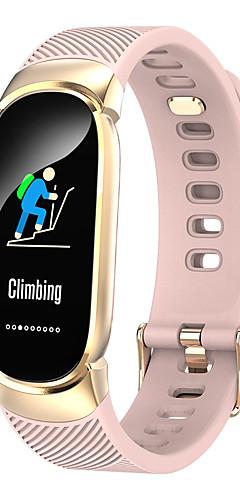 preiswerte -QW16 Smart-Armband BT Fitness-Tracker-Unterstützung benachrichtigen / Pulsmesser wasserdicht Sport Smartwatch kompatiblen iOS / Android-Handys