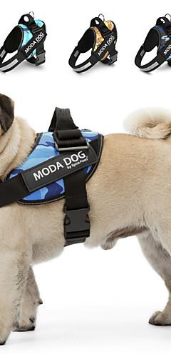 رخيصةأون -كلب أربطة عاكس متنفس قابل للسحبقابل للتعديل تدريب ركض مريح الأمان منقط متعدد اللون قلب قماش كلب صغير كلب متوسط كلب كبير خمر أرزق بحري