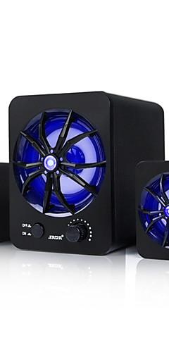 preiswerte -USB-Kabel Heimcomputer Lautsprecher tragbarer Kombinationslautsprecher LED-Bass-Stereo-Lautsprecher mit Subwoofer