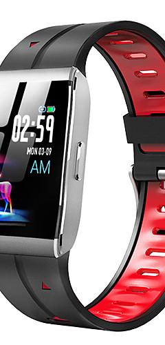 preiswerte -x1 Smart Watch BT Fitness Tracker Unterstützung benachrichtigen / Pulsmesser Sport Smartwatch kompatibles iPhone / Samsung / Android-Handys