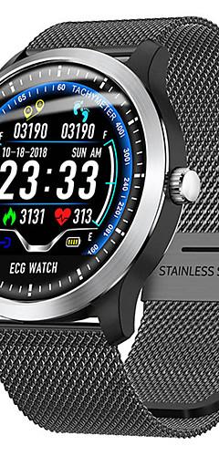 preiswerte -l58 smart watch bt fitness tracker unterstützung benachrichtigen / herzfrequenzmesser / ecg sport bluetooth smartwatch kompatibel apple / samsung / android handys
