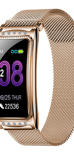 preiswerte -Bt-Eignungsverfolgerunterstützung des intelligenten Armbandes f8 Edelstahl benachrichtigen / ecg + ppg wasserdichte intelligente Uhr für Samsung- / iphone- / android-Telefone