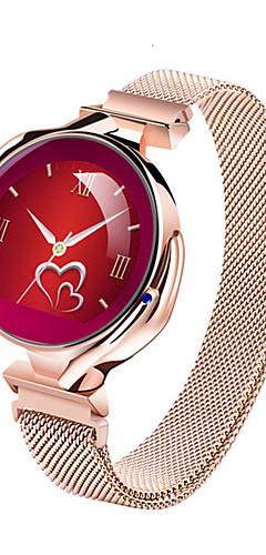 preiswerte -Z38 Frauen Smartwatch Edelstahl Fleck BT Fitness Tracker Unterstützung benachrichtigen / Blutdruckmessung Sport Smart Watch für Samsung / Apple / Android-Handys