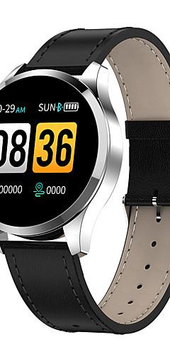 preiswerte -bluetooth q9 smart watch wasserdicht nachricht anruf erinnerung smartwatch männer pulsmesser fitness tracker android ios telefon