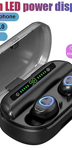 preiswerte -litbest tws bluetooth Kopfhörer mit Mikrofon führte das wasserdichte Geräusch der Anzeige der drahtlosen bluetooth Kopfhörerkopfhörer, das Kopfhörer annulliert