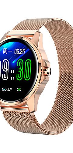 preiswerte -r23 smartwatch edelstahl bt fitness tracker unterstützung benachrichtigen / blutdruckmessung sport smart watch kompatibel samsung / iphone / android handys