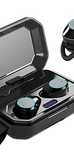 preiswerte -litbest x6 tws zutreffendes drahtloses earbuds 3000mah bewegliche Energie, die smartphone bluetooth 5.0 Stereodoppeltreiberflossenkopfhörer ipx7 auflädt, imprägniern Sporteignungs-Notensteuerkopfhörer