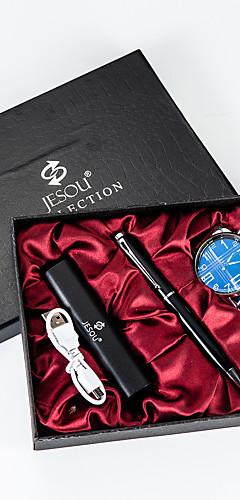 ราคาถูก -สำหรับผู้ชาย นาฬิกาข้อมือสแตนเลส นาฬิกาอิเล็กทรอนิกส์ (Quartz) PU Leather เงิน 50 m กันน้ำ โครโนกราฟ Creative ระบบอนาล็อก มาใหม่ แฟชั่น - เงิน สองปี อายุการใช้งานแบตเตอรี่