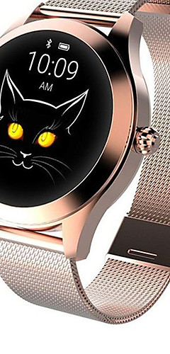 preiswerte -KW10 Smart Watch BT Fitness Tracker Unterstützung benachrichtigen&Herzfrequenz-Messgerät für Smartwatch-kompatible Samsung- / Apple- / Android-Telefone