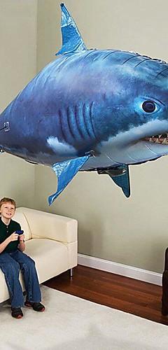 رخيصةأون -RC Shark التحكم عن بعد الحيوان القرش الطائر سمكة المهرج قابل للاشتعال حركة واقعية السباح الهواء PP+ABS من أجل الجميع للصبيان للفتيات 1 pcs