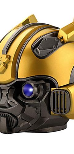 cheap -LITBest Bumblebee Bluetooth Speaker Portable Wireless Loudspeaker LED Flashing Light BT mini Transformers Speaker