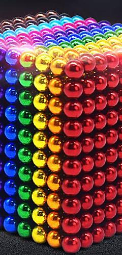 رخيصةأون -1000 pcs 5mm ألعاب المغناطيس كرات مغناطيسية ألعاب المغناطيس أحجار البناء سوبر قوي نادر الأرض مغناطيس مغناطيس النيوديميوم مغناطيس النيوديميوم مغناطيس / التوتر والقلق الإغاثة
