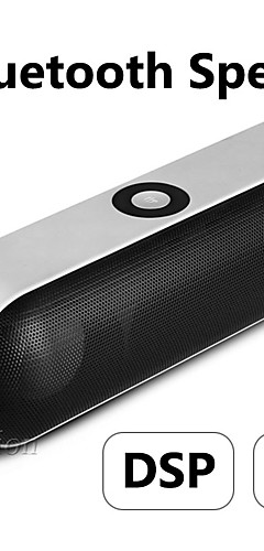 cheap -NBY-18 Mini Bluetooth Speaker Portable Wireless Speaker Sound System 3D Stereo Music Surround Support Bluetooth,TF AUX USB