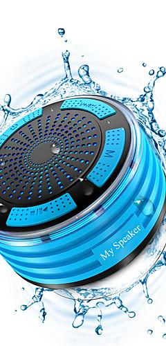 cheap -Portable Wireless Bluetooth Speakers Waterproof IPX7 Radio 8H Playtime 5W Bass Sound Shower Speaker Stereo Pairing Durable Design Backyard Outdoors Travel Pool Bathroom