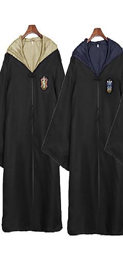 povoljno -Ubojica Magični Harry Gryffin d'or Slytherin Plašt Muškarci Žene Filmski Cosplay Bijela / Crvena / Zelen Terilen