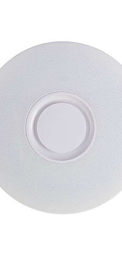 cheap -HOT Music Led Ceiling Light Lamp 60W Rgb Flush Mount Round Starlight Music With Bluetooth Speaker Dimmable Color Changing Light