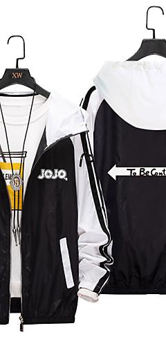 cheap -Inspired by JoJo's Bizarre Adventure JOJO Cosplay Costume Masquerade Polyester Hoodie For Men's