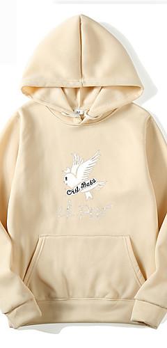 cheap -Inspired by Cosplay Lil peep Cosplay Costume Hoodie Polyster Print Printing Hoodie For Men's / Women's