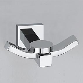 preiswerte Produkte für das Badezimmer-Kleiderhaken Cool Moderne Messing Hotelbad Wandmontage