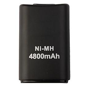 preiswerte Handys & Elektronik-USB Batterien Für Xbox 360 . Wiederaufladbar Batterien ABS 1 pcs Einheit