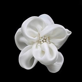 preiswerte One One Bridal®-Damen Satin Künstliche Perle Kopfschmuck-Hochzeit Besondere Anlässe Freizeit Blumen