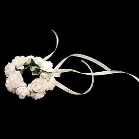 levne Doplňky pro květinové družičky-Svatební kytice Kytice Živůtek na zápěstí Ostatní Svatební Večírek Materiál Papír 0-20 cm