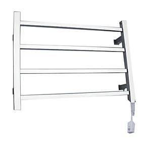 billige Rustfritt stål Series-40W eleganse veggfeste firkantet rør håndkle warmmer tørkestativ
