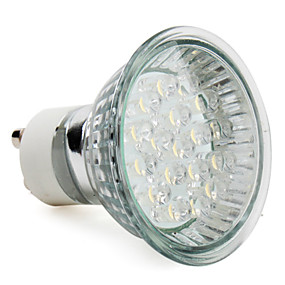 preiswerte 5% Rabatt-1pc 1 W LED Spot Lampen 60-80 lm E14 GU10 E26 / E27 18 LED-Perlen Dip - Leuchtdiode Warmes Weiß Kühles Weiß 220-240 V