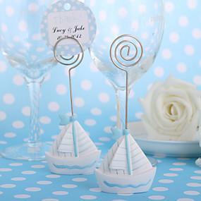 povoljno Darovi i pokloni za zabave-držač kartice za jedrenje (skup od 4) prekrasan vjenčanica