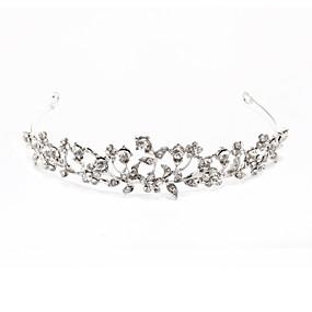 preiswerte One One Bridal®-Krystall / Stoff / Aleación Tiaras mit 1 Hochzeit / Besondere Anlässe / Party / Abend Kopfschmuck