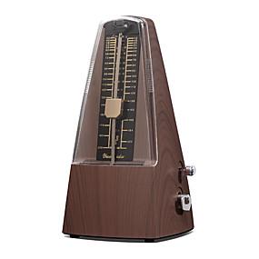 preiswerte Instrumenten Zubehör-Yueshida - (YM-BR) Mechanische Metronome für alle Instrumente (Deep Teak)