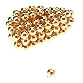 preiswerte Magnetische Spielsachen-50 pcs 5mm Magnetspielsachen Magnetische Bälle Bausteine Superstarke Magnete aus seltenem Erdmetall Neodym - Magnet Puzzle Würfel Magnet Magnetisch Kinder / Erwachsene Jungen Mädchen Spielzeuge