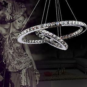 cheap Ceiling Lights & Fans-1-Light 40 cm Crystal / LED Chandelier / Pendant Light Metal Electroplated 110-120V / 220-240V