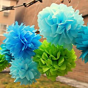preiswerte Seidenpapier Blumen-Seidenpapier Dekoration Fasergemisch Hochzeits-Dekorationen Hochzeit / Party / Hochzeitsfeier Blumen / Klassisch Frühling / Sommer / Herbst