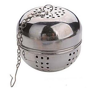 preiswerte Haus & Garten-Multifunktions Tee Durchmesser 5,5 cm Edelstahl Kugelsperr Brüheinheit Sieb Teekessel