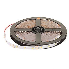 cheap Light Strips & Strings-5m Flexible LED Light Strips 300 LEDs 2835 SMD Warm White 12 V