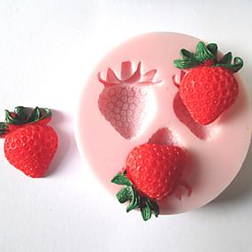 preiswerte Super Sale-1pc Silikon Umweltfreundlich Heimwerken Kuchen Plätzchen Obstkuchen Backform Backwerkzeuge