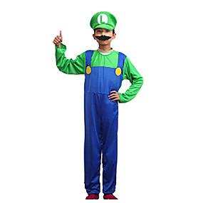 preiswerte Kostüme für Kinder-Mehre Kostüme Cosplay Kostüme Kinder Halloween Karneval Fest / Feiertage Polyester Karneval Kostüme Einfarbig / Hut
