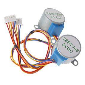 preiswerte Motoren & Zubehör-DC 5V 28ybj-48 Schrittmotor (für Arduino) ((funktioniert mit offiziellen (für Arduino) Tafeln / 2 Stück)