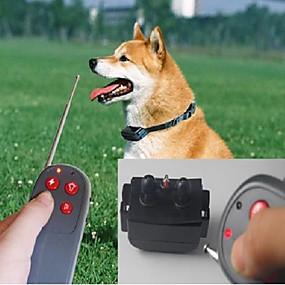 preiswerte Hunde-Hundetraining Bellhalsband Training - Hundhalsbänder Training Hund Anti Bark Fernbedienung Eletrisch / Elektrisch Nylon Für Haustiere / Sicherheit