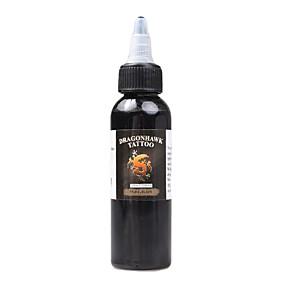 preiswerte Dragonhawk®-DRAGONHAWK Tätowierfarbe 1*60 ml Sicherheit / Beste Qualität - Schwarz