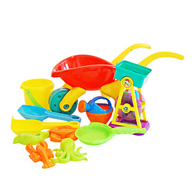 cheap Beach & Sand Toys-Beach Toy Beach Sand Toys Set Water Toys Plastic Thick For Kid's Adults'