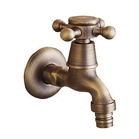 preiswerte Vintage Armaturen-Waschbecken Wasserhahn - berühren / berührungslos Gebürstet Wandmontage Einhand Ein LochBath Taps