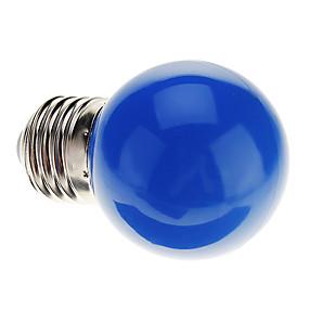 preiswerte LED-Lampen für den Großhandel-0.5 W LED Kugelbirnen 30 lm E26 / E27 G45 7 LED-Perlen Dip - Leuchtdiode Dekorativ Blau 220-240 V / RoHs